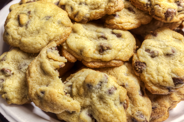 chocolate chip, cookies, baked goods, food, dessert, angela b. pan, abpan, macro, hdr,
