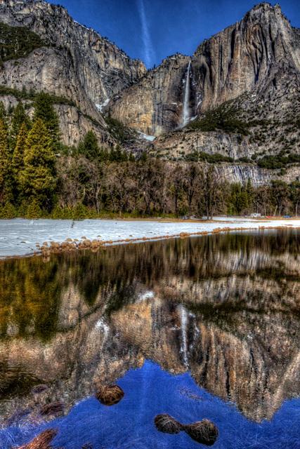 yosemite, yosemite national park, yosemite falls, water falls, hdr, landscape, california, abpan, angela.b.pan