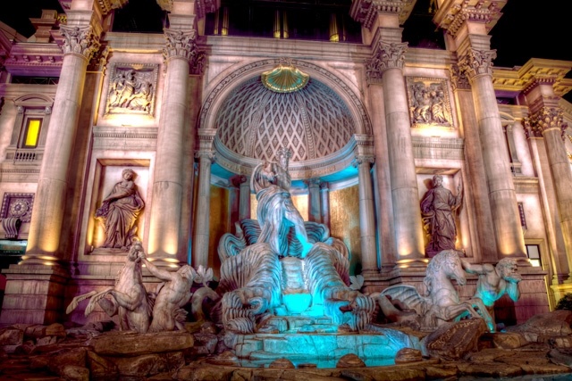 ceasars palace, the forum shops, fountains, zeus, las vegas, angela b. pan, abpan