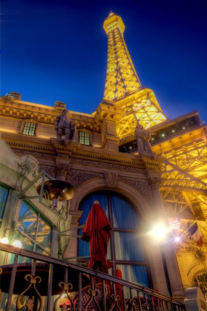 paris, las vegas, eiffel tower, night photography, landscape, hdr, angela b. pan, abpan, travel photography