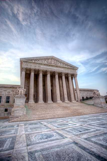 supreme court, washington dc, sunrise, hdr, landscape, architecture, justice, angela b. pan, abpan