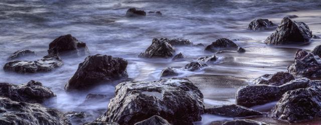 rodeo beach, northern california, beach, sunset, landscape, hdr, angela b. pan, abpan, water