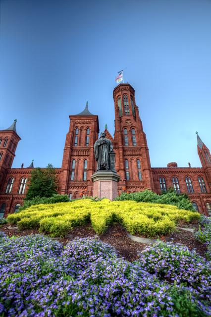 Smithsonian Castle, national mall, washington dc, angela b. pan, abpan, hdr,