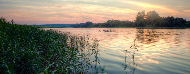 sunset, river, ohio, abpan, angela b. pan, hdr, water, landscape, middletown