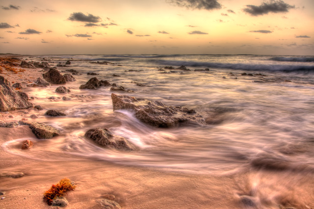 cozumel, beach, playa, sunrise, landscape, hdr, travel, angela b. pan, abpan,