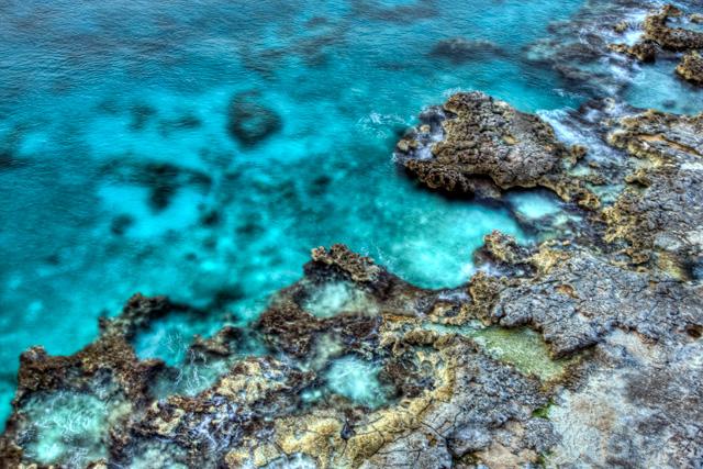 cozumel, rocks, mexico, angela b. pan, abpan, hdr, landscape, shore, hdr, landscape, ocean
