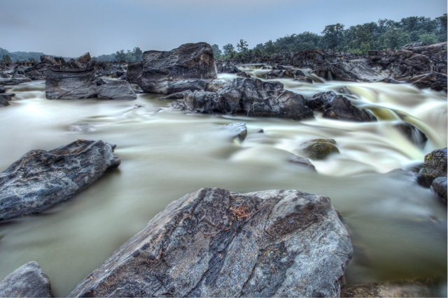 great falls, humidity, angela b. pan, national park, fog, waterfall, landscape, hdr, abpan, travel, landscape