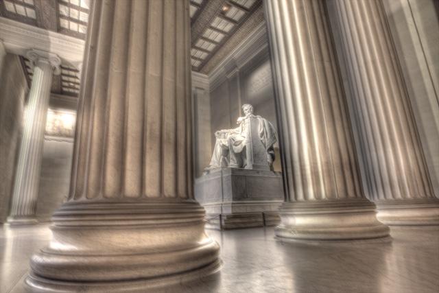lincoln, lincoln memorial, washington dc, hdr, mall, travel, angela b. pan, abpan