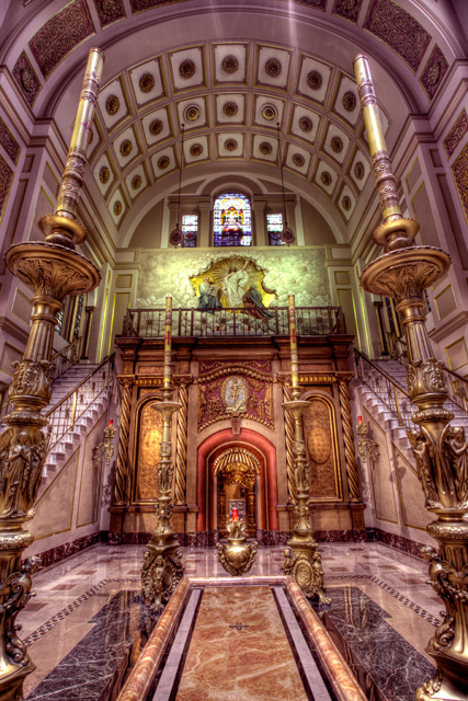 tomb of christ, angela b. pan, abpan, hdr, interior, architecture, franciscan monastery, travel, washington dc, ne dc,