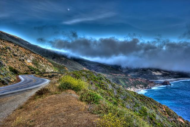 big sur, california, drive, route 1, pacific coast highway, angela b. pan, abpan, hdr, travel