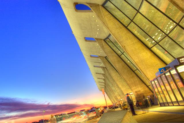dulles, airport, iad, sunrise, travellers, landscape, hdr, angela b. pan, abpan, virginia, dc, travel