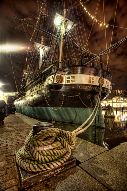 baltimore, md, maryland, boat, inner harbor, night, photography, hdr, travel, angela b. pan, abpan