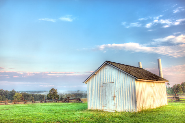 manassas, va, travel, hdr, landscape, morning, barn, angela b. pan, abpan
