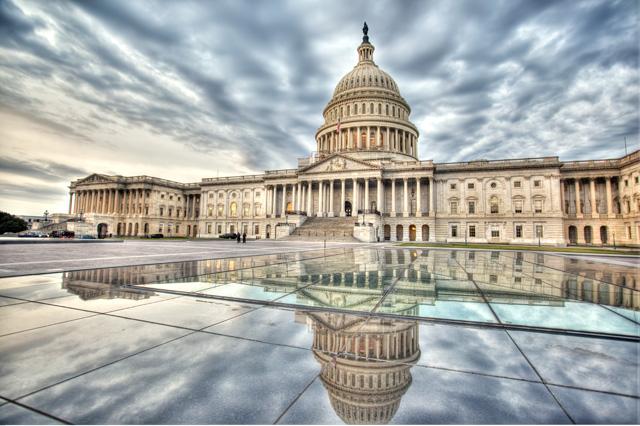 capital, government, washington dc, travel, hdr, landscape, blue, sunrise, clouds