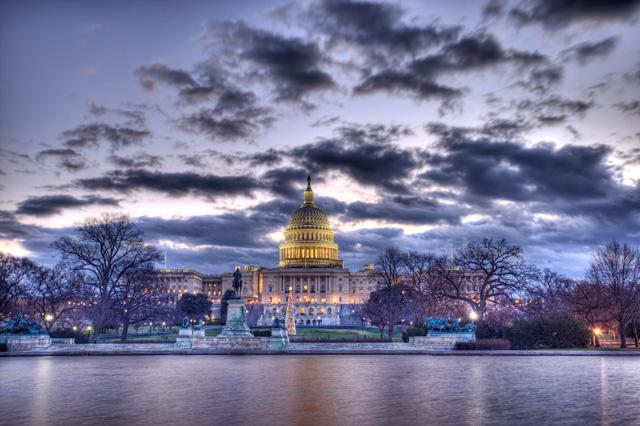 us capitol, capitol hill, clouds, sunrise, christmas tree, washington dc, hdr, landscape, angela b. pan, abpan