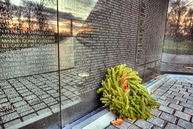 vietnam war, vietnam memorial, vietnam wall, angela b. pan, abpan, hdr, sunrise, washington dc, travel