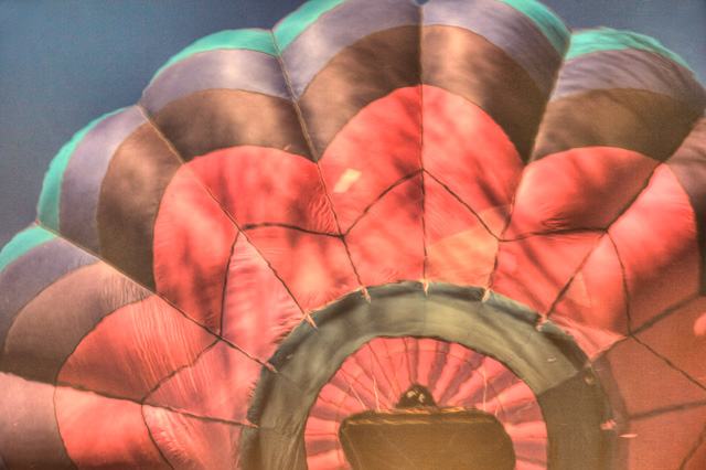 hot air balloon, reflection, delmarva, md, maryland, travel, hdr, ridgely, angela b. pan, abpan, landscape