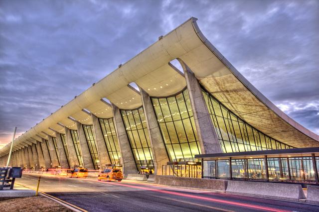 dulles, airport, dc, chantilly, va, international, sunrise, landscape, angela b. pan, abpan, travel, photo, photography, hdr