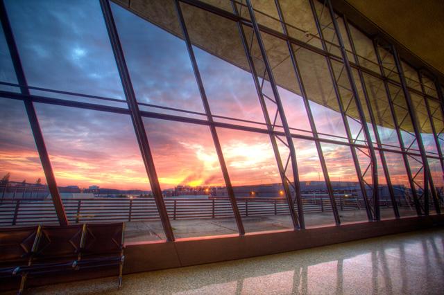 dulles, airport, washington dc, sunrise, landscape, chantilly, va, international, windows, angela b. pan, abpan, hdr, photo, photography