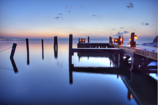 alexandria, dock, sunrise, morning, foggy, virginia, hdr, landscape, water, angela b. pan, abpan, photography, photo