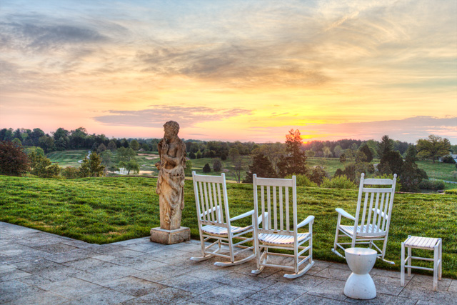 Charlottesville, Va, sunrise, landscape, keswick, sunrise, angela b. pan, abpan, photography, photo, travel, hdr, scenic, sunrise, chairs