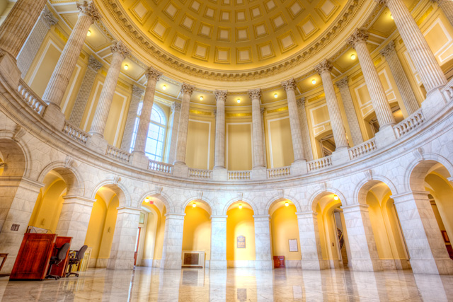 canon building, hdr, washinton dc, travel, archtiecture, interior, structure, angela b. pan, abpan, photo, photography