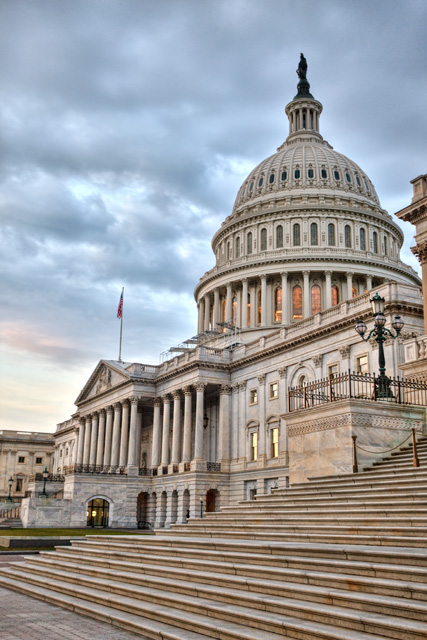 capitol, washington dc, sunrise, blue, clouds, details, angela b. pan, abpan, hdr, photography, photo, travel, government,
