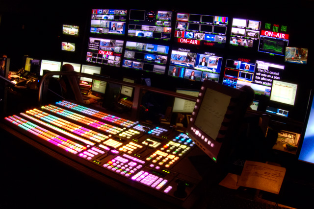 control room, nbc, angela b. pan, abpan, studio, hdr, photography, photo, tv, production, news