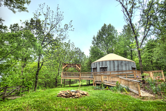 yurt, blue ridge mountains, pocosan mountain, angela b. pan, abpan, hdr, travel, virginia, camping, stanardsville, b&b,