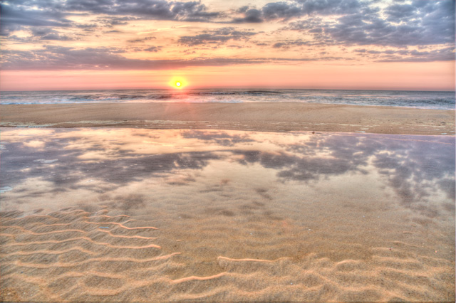 sunrise, va beach, virginia, landscape, angela b. pan, abpan, hdr, photography, photo