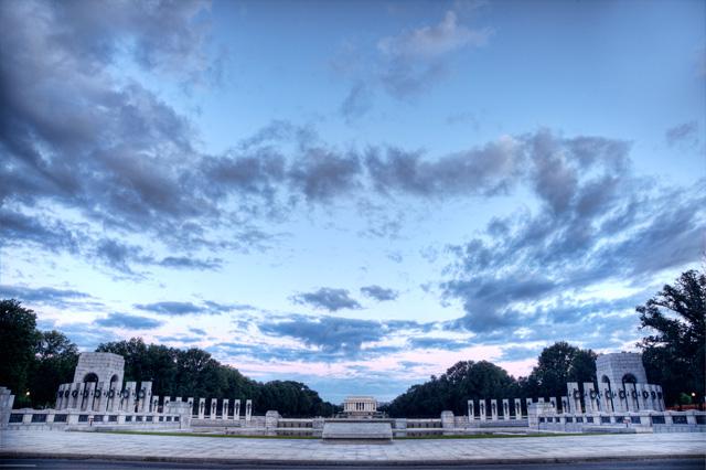 wwii, lincoln, memorial, washington dc, angela b. pan, abpan, landscape, patriotic, travel, photography, photo, hdr