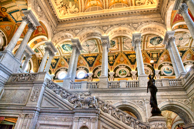 library of congress, loc, hdr, photography, photo, dc, washington, angela b. pan, abpan