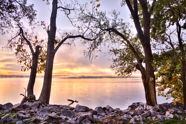 sunrise, alexandria, va, landscape, hdr, photography, photo, trees, potomac,