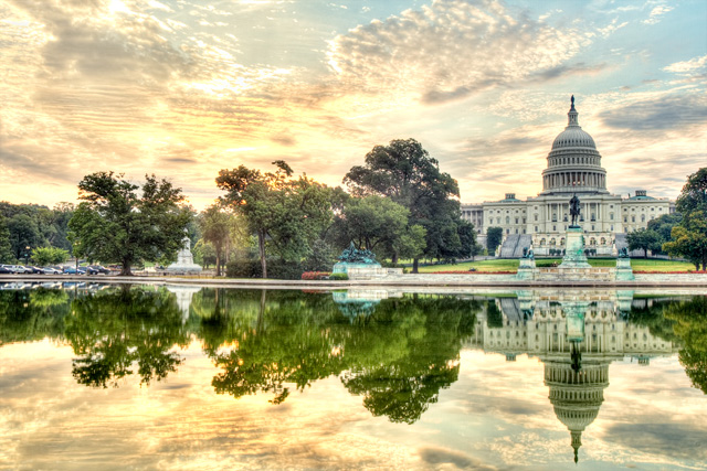 us capitol, capital, dc, washington, hdr, landscape, sunrise, photo, photography