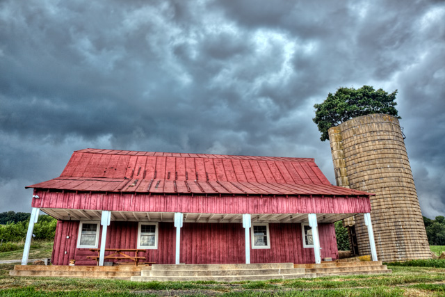 red, barn, storm, clouds, abpan, angela b. pan, hdr, landscape, virginia, delaplane, rain, thunder, photo, photography