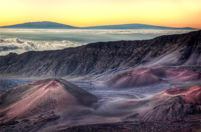 haleakala, volcano, sunrise, hdr, photo. photography, travel, angela b. pan, abpan, maui, hawaii