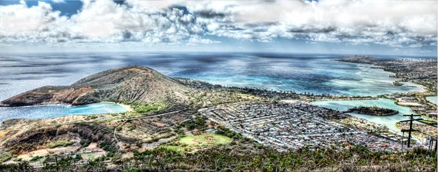koko head, crater trail, oahu, hawaii, diamond head, hike