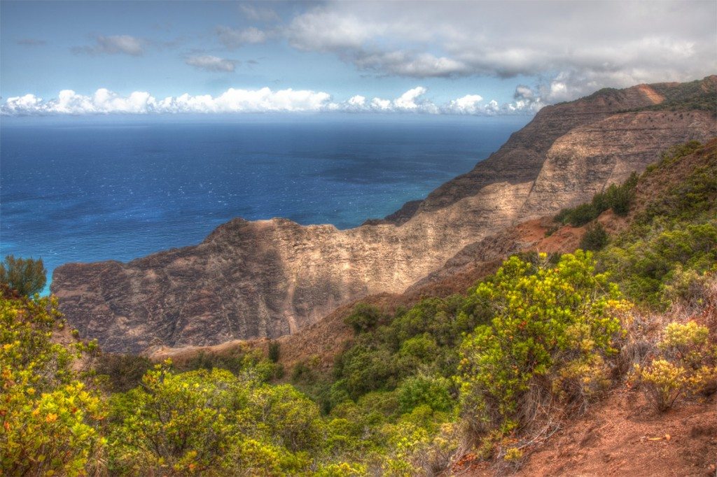 Napali Coast in Kauai, Hawaii