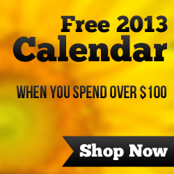 Get a Free 2013 Dynamic DC Calendar when you spend over $100