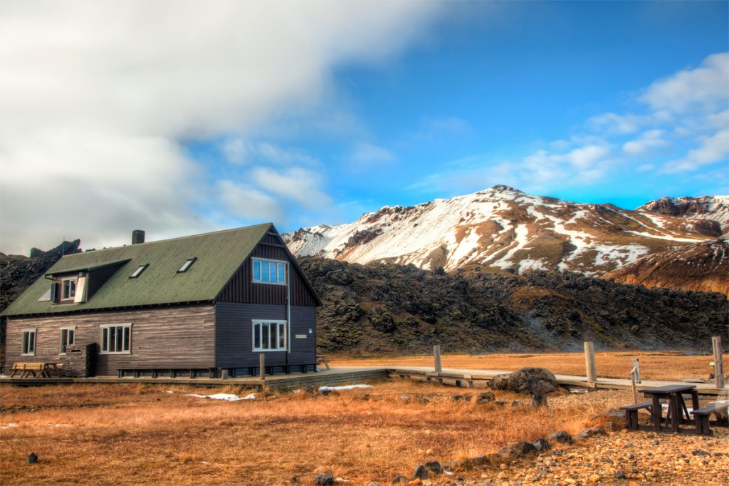 Little Icelandic Cottage in the Middle of the Mountains