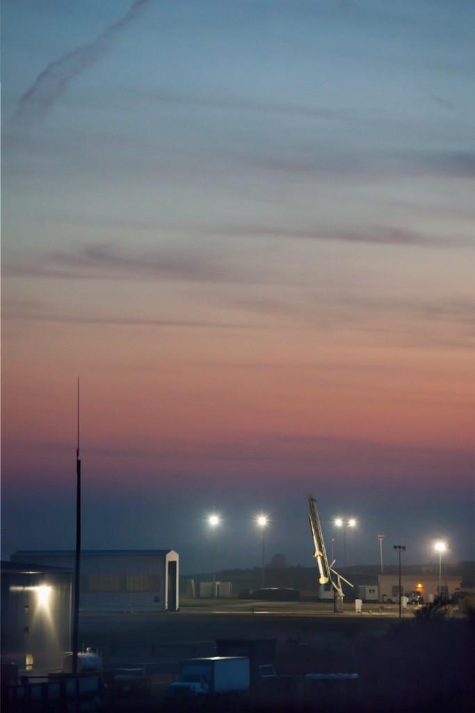 Rocket Launch at NASA Wallops Flight Facility