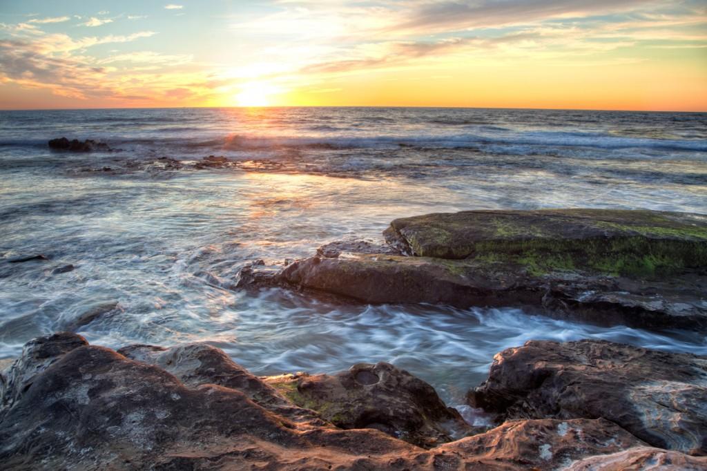 San Diego Sunset at the Beach