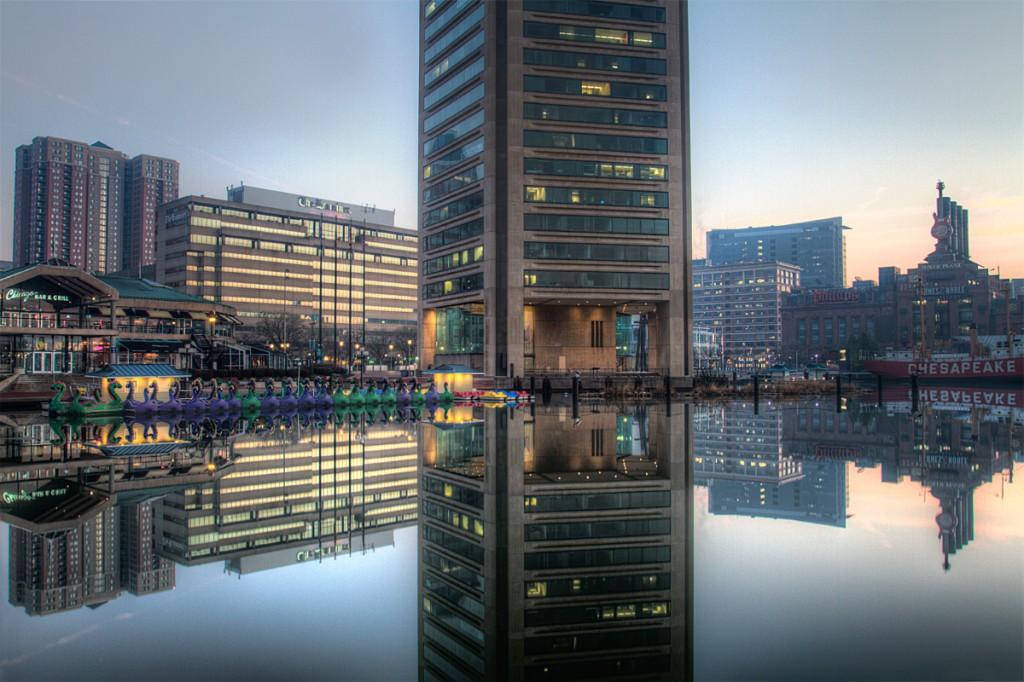 Baltimore world trade center, maryland