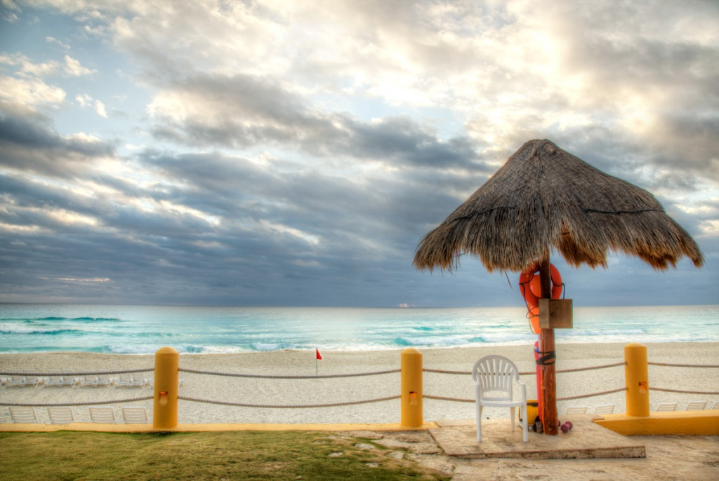 Cancun Lifeguard Stand, Mexico