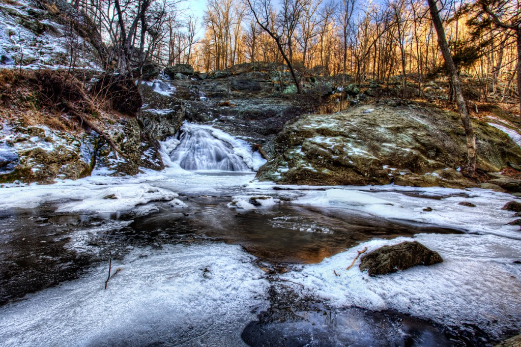 cunningham falls state park, maryland, waterfall