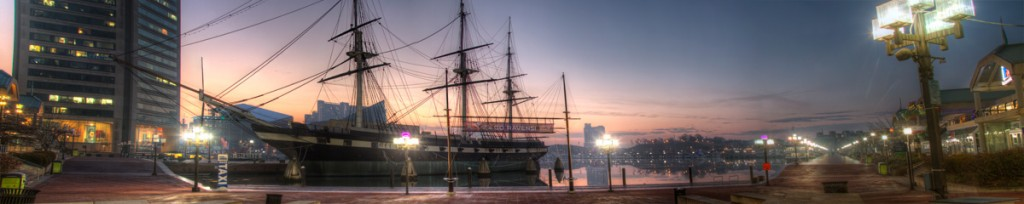 uss constellation, baltimore, md, cityscapes