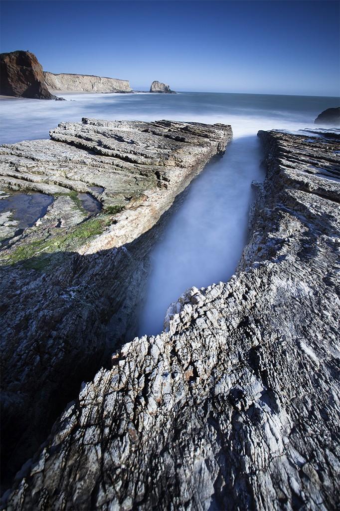 panther beach  davenport  california