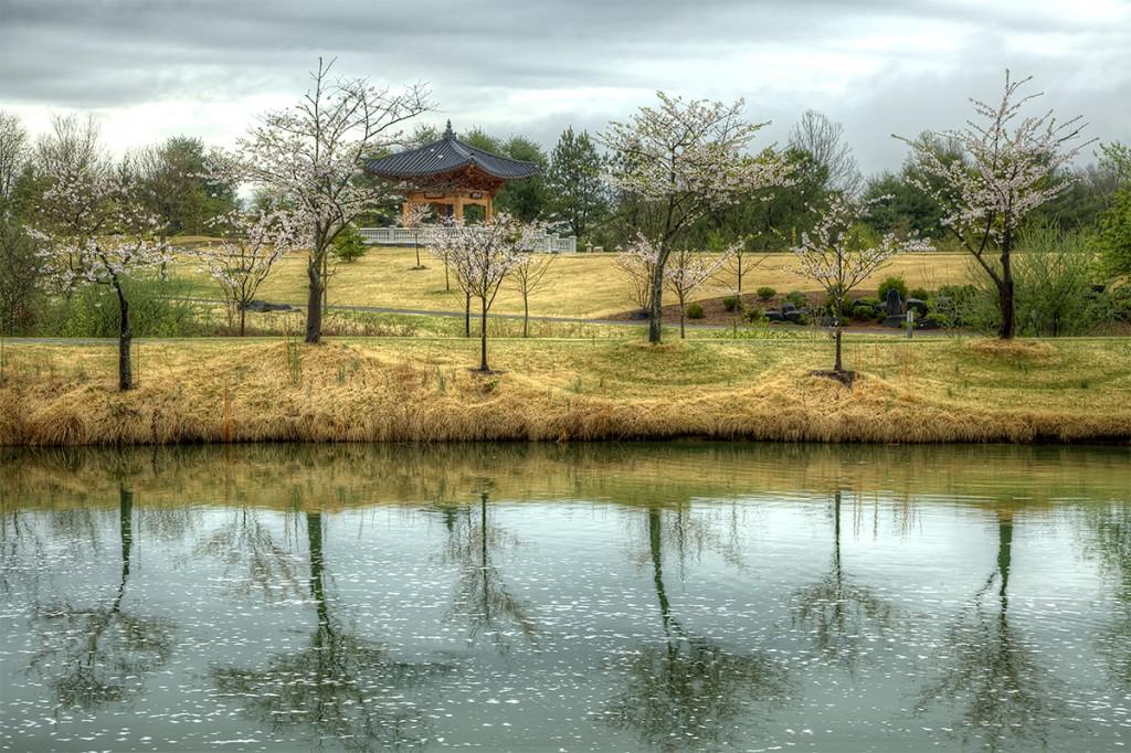 Korean Temple Meadowlark Botanical Garden Va