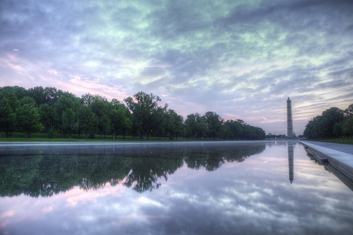 Washington dc part 9 - Reflecting pool ...