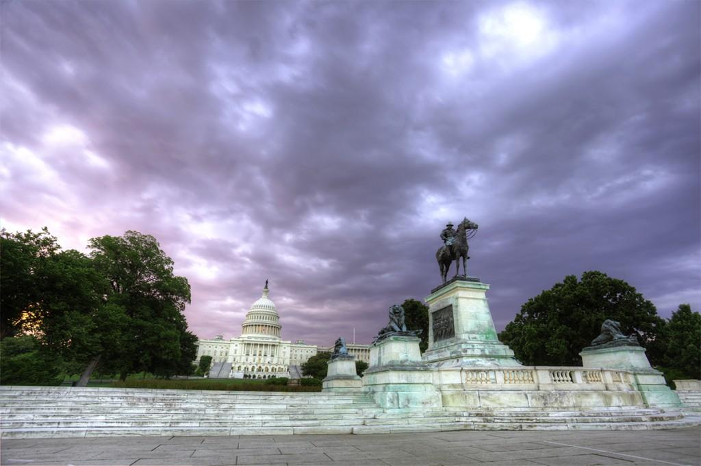ulysses s grant statue, us capitol, washington dc